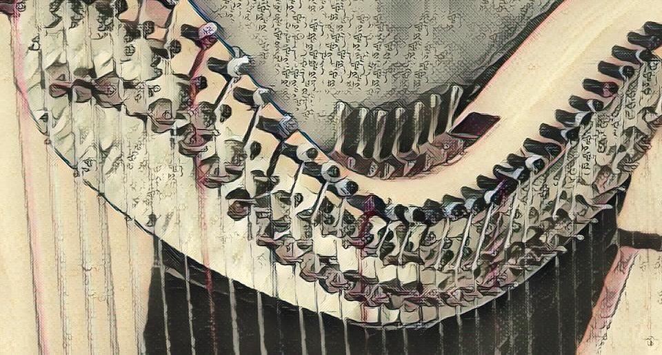 Ode: a harp & psaltery ensemble