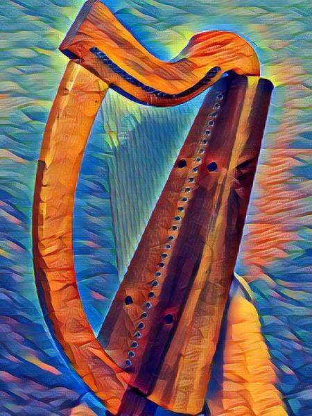 ODE Brian Boru Harp